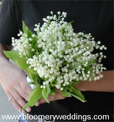 Lily of Valley Wedding Bouquet
